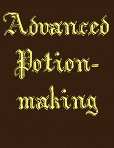 Advanced Potion-making cover